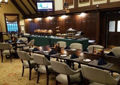 Erin Hills Golf Course Clubhouse Restaurant Breakfast Buffet