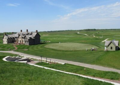 Erin Hills Golf Course Clubhouse View
