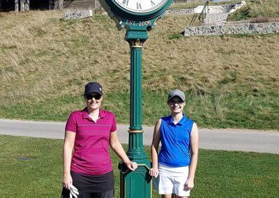 Erin Hills Golf Course Hole 1 Kauflins Clock