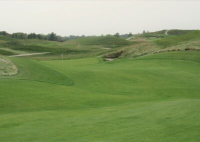 Erin Hills Golf Course Hole 12 Approach
