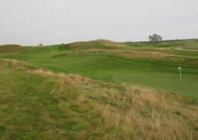 Erin Hills Golf Course Hole 12 Green View