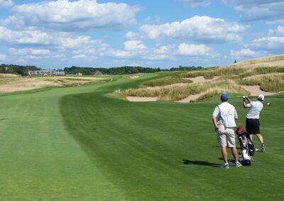 Erin Hills Golf Course Hole 18 Fairway