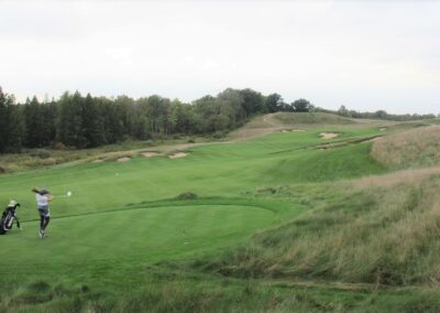 Erin Hills Golf Course Hole 3 Forward Tee Rachel