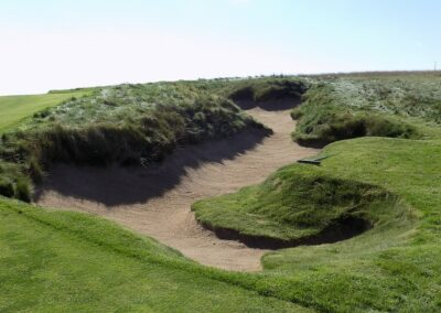 Erin Hills Golf Course Hole 6 Bunker