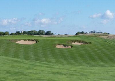 Erin Hills Golf Course Hole 8 Approach