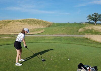 Erin Hills Golf Course Hole 8 TeeA