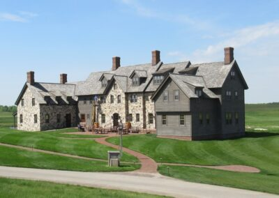 Erin Hills Golf Course Lodge View