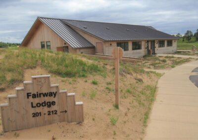 Sand Valley Golf Fairway Lodge Sign