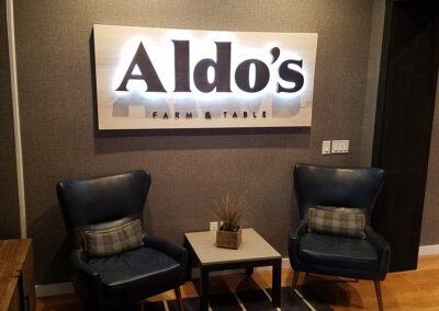 Sand Valley Golf Resort Clubhouse Aldo's Restaurant Entrance