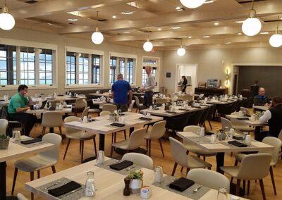 Sand Valley Golf Resort Clubhouse Aldo's Restaurant Seating