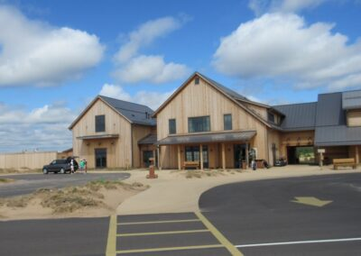Sand Valley Golf Resort Clubhouse Entrance