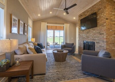 Sand Valley Resort Crenshaw Cabin Living Room