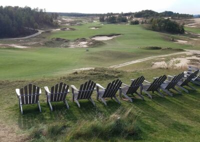Sand Valley Resort Sand Valley Course Hole 10 Chairs
