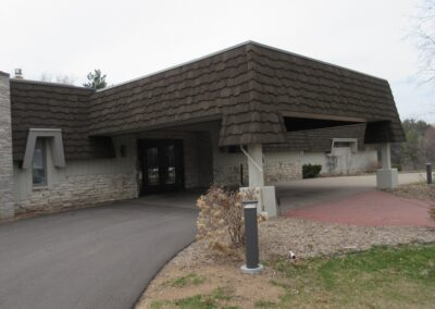 Stevents Point Country Club Clubhouse New Entrance