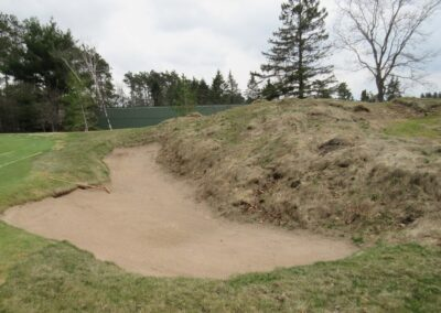Stevents Point Country Club Hole 11 Greenside Bunker