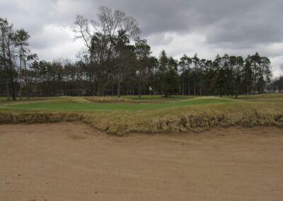Stevents Point Country Club Hole 2 Greenside Bunker