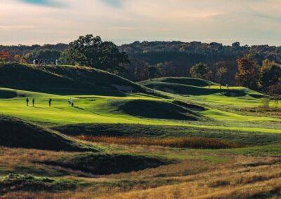 Erin Hills Golf Course Back 9 Holes GR