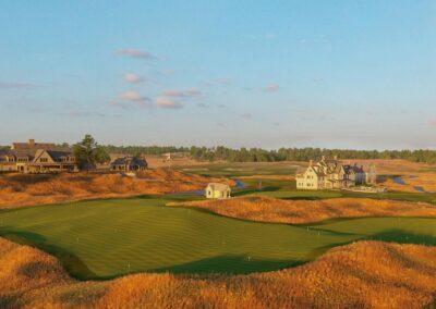 Erin Hills Golf Course Drumlin Rendering GR