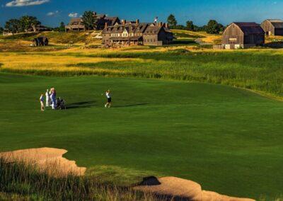 Erin Hills Golf Course Fairway 1 GR