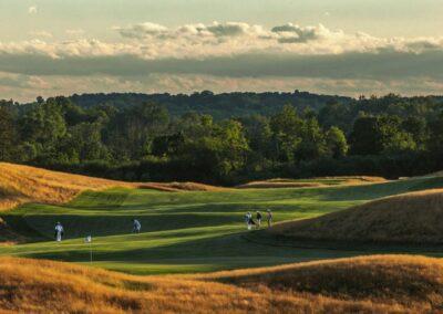 Erin Hills Golf Course Stock Approach