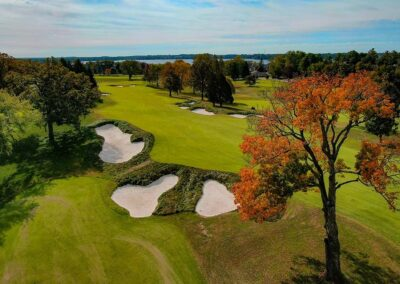 The Club at Lac La Belle Fall Trees