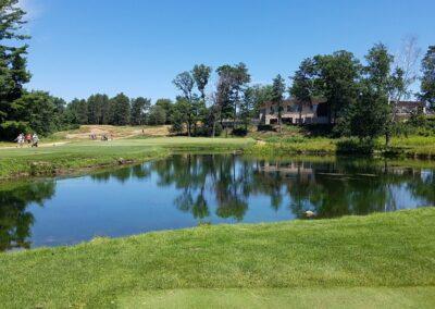 Stevens Point Country Club (175) Hole 9 Tee