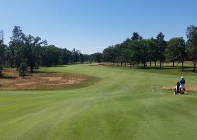 Stevens Point Country Club (220) Hole 15 Split Fairway