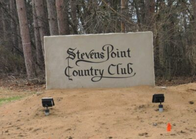 Stevens Point Country Club (70) New Sign