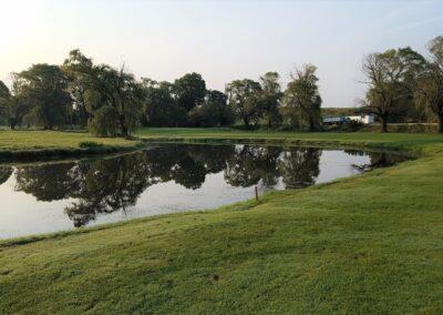 Lake Windsor CC (128) Hole 3 Approach