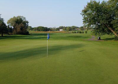 Lake Windsor CC (156) Hole 7 Green